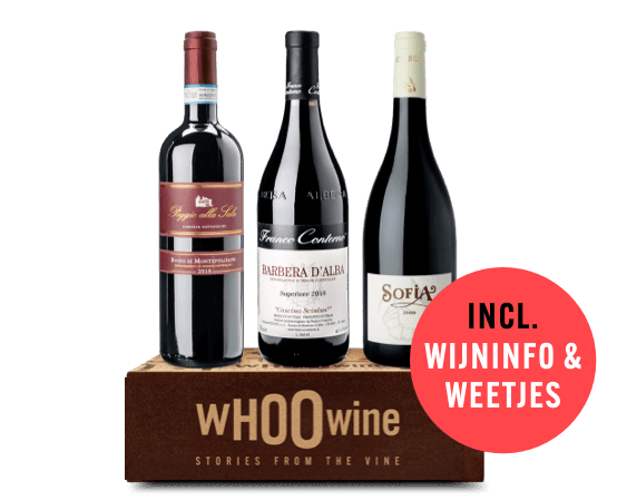 WHOOwine Box rode wijn