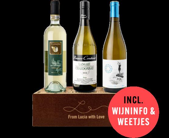 WHOOwine Box witte wijn