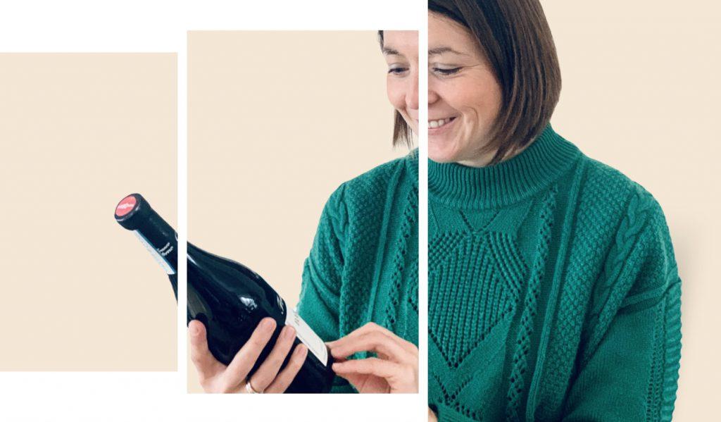 Lucia met wijn