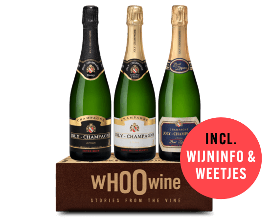 WHOOwine Box Champagne Joly
