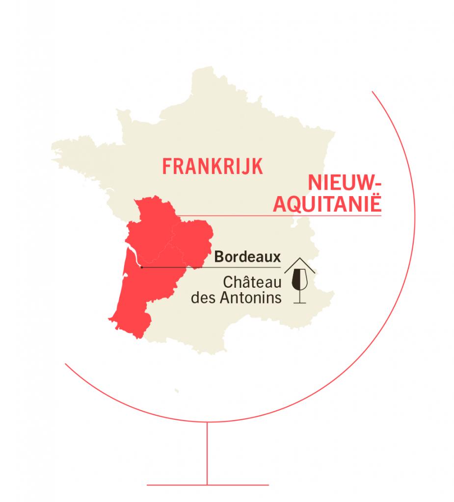 kaart Antonins