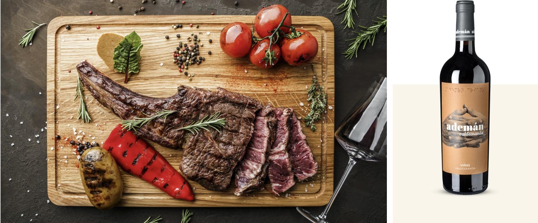 Ademán Valdearanda 2017 en vlees