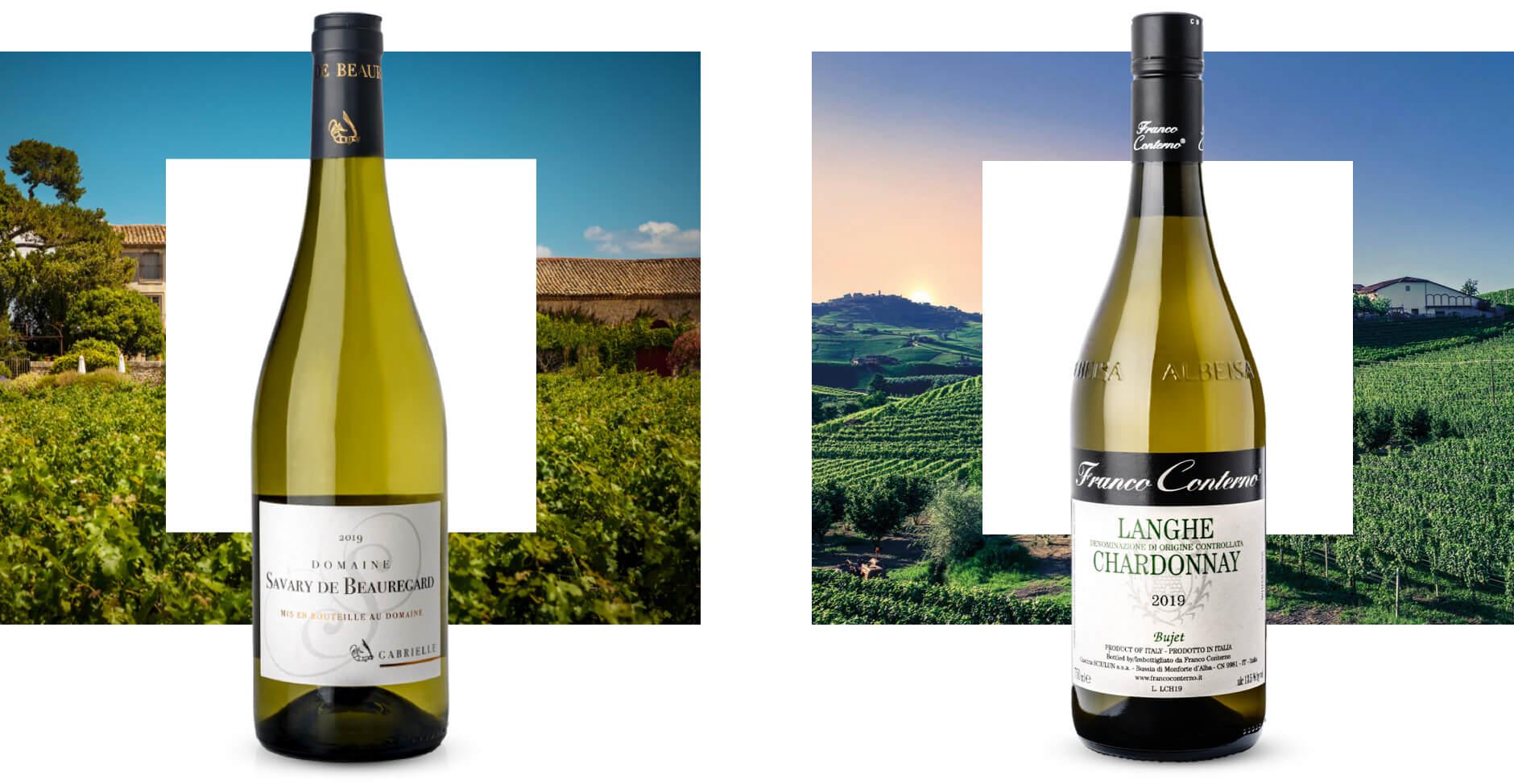 Chardonnay-wijnen